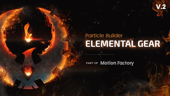 Particle Builder | Elemental Gear: Fire Sand Smoke