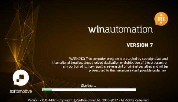WinAutomation Professional Plus 7.0.0.4482