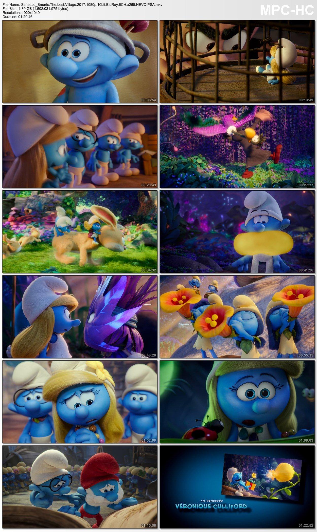 Download Smurfs The Lost Village 2017 1080p 10bit BluRay ...