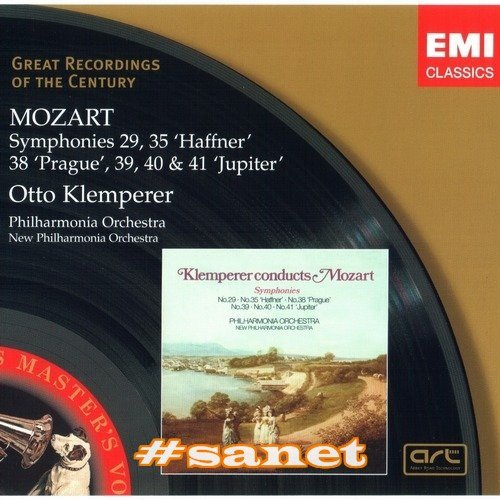 Download Philharmonia Orchestra, Otto Klemperer - Mozart