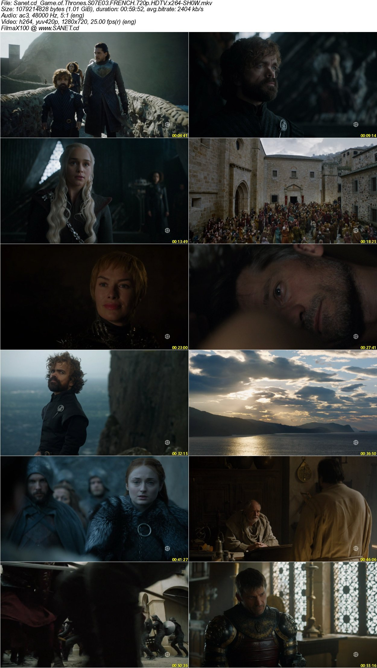 Game Of thrones Hdtv 720p