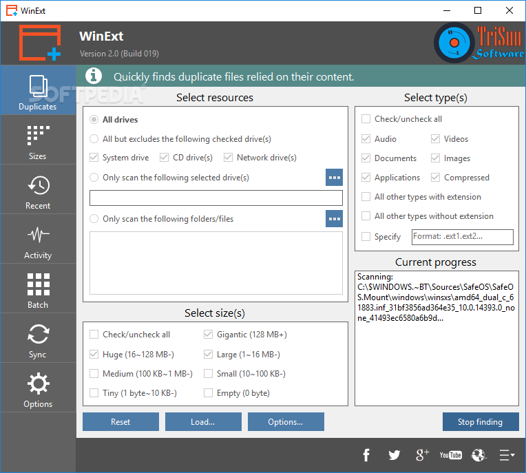 Download Portable WinExt 2 1 - SoftArchive