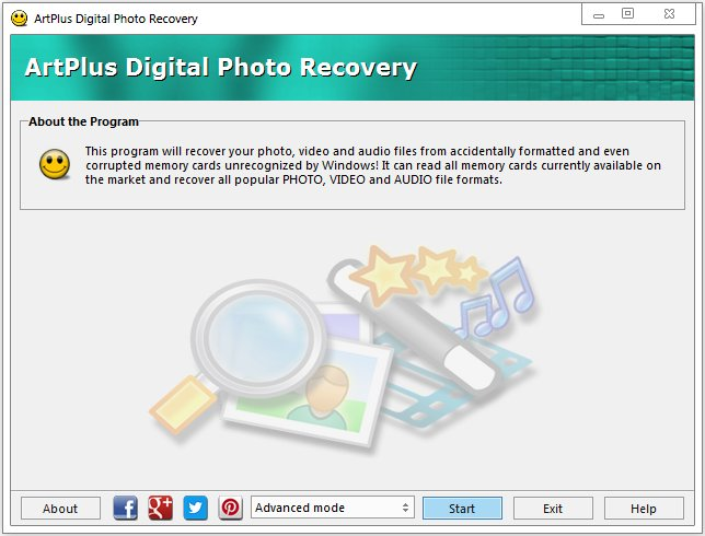 Download ArtPlus Digital Photo Recovery 7 2 9 200 + Portable