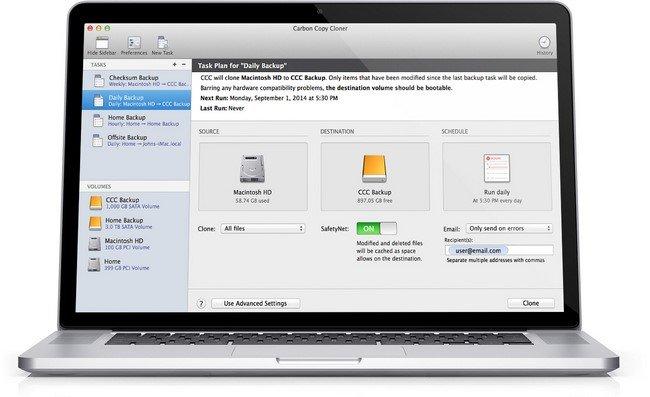 Carbon Copy Cloner 4.1.17.4577 Multilingual (MacOSX)