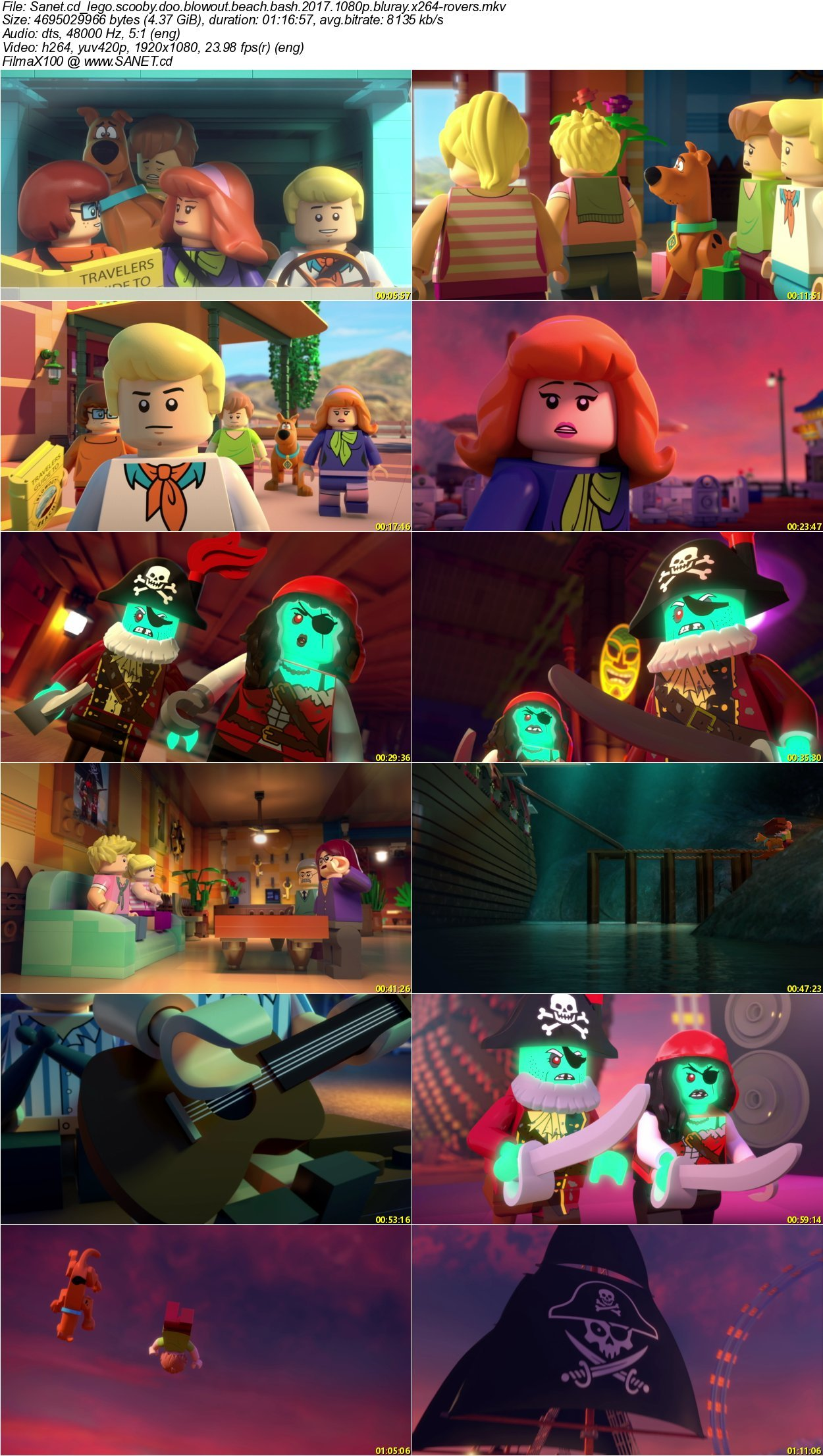 Lego Scooby Doo Blowout Beach Bash   Rovers