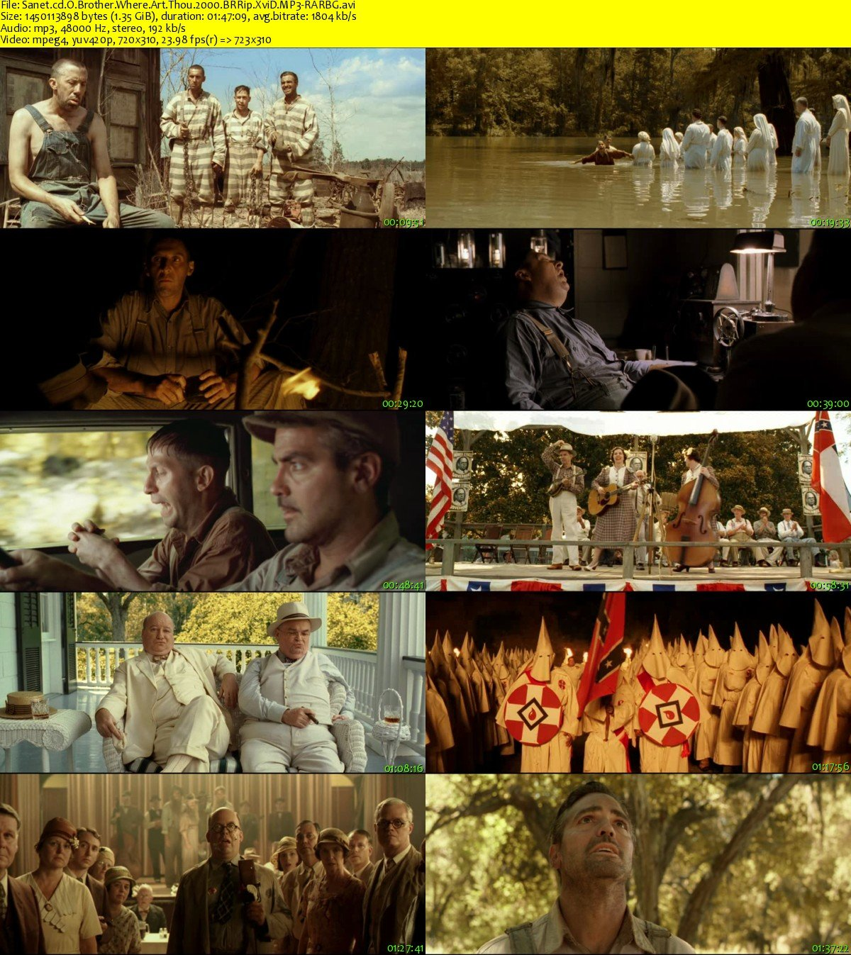comparing o brother where art thou to the odyssey O brother where art thou/ the odyssey comparative review february 13, 2013 the film o brother where art thou directed by joel coen was a beautiful rendition of several adventures odysseus experienced in the odyssey written by homer.
