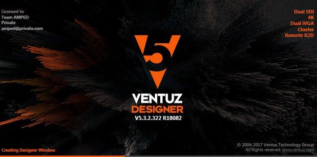 Ventuz Technology Ventuz Designer 5.3.3.442