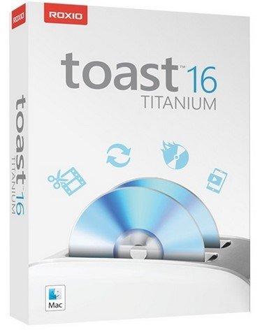 Roxio Toast Titanium 16.0.4745 Multilingual (MacOSX)