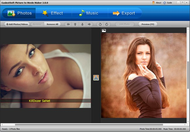 EasiestSoft Picture to Movie Maker 2.0.0