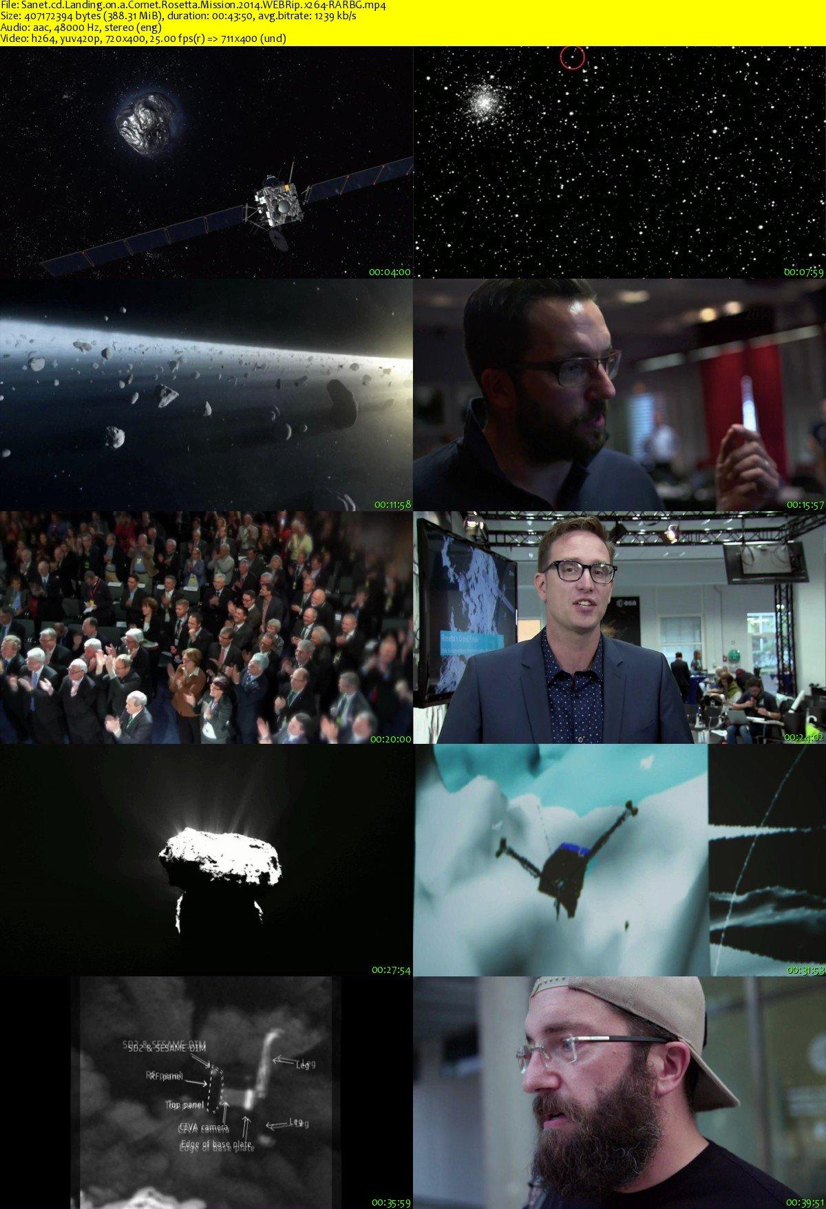 Download Landing on a Comet Rosetta Mission 2014 WEBRip ...