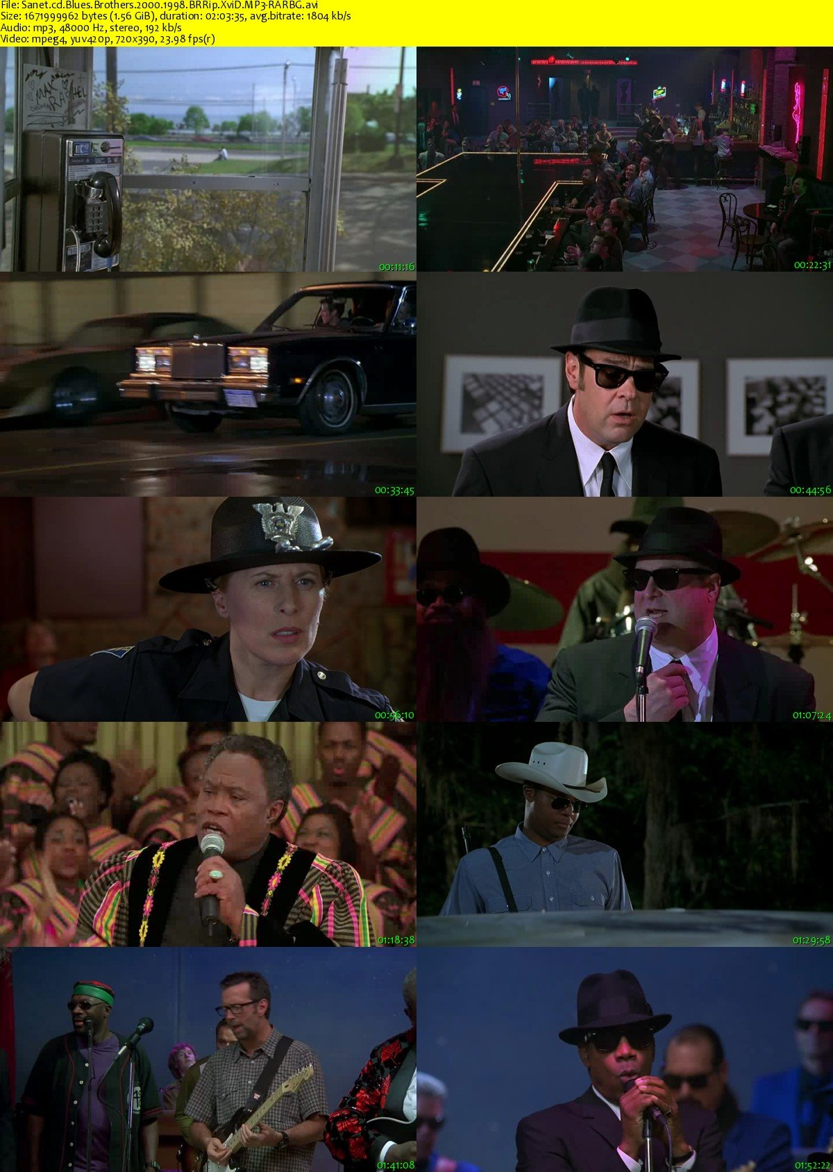 Blues Brothers   - Trailer - YouTube