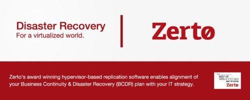 Zerto Virtual Replication 5.0.30.165