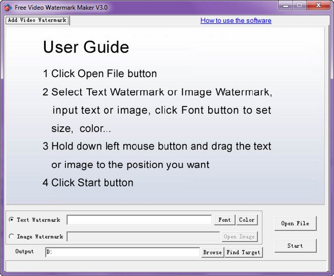 Free Video Watermark Maker Portable