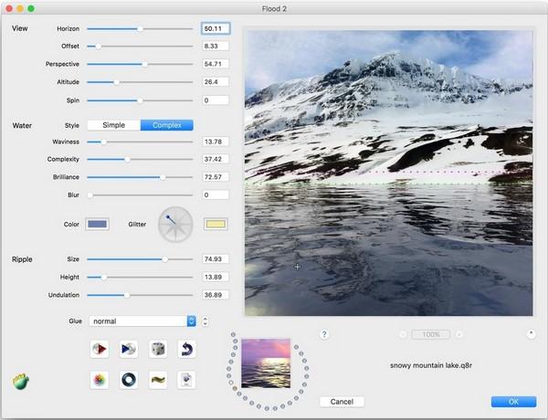 Flaming Pear Flood 2.05 for Adobe Photoshop (Win Mac)