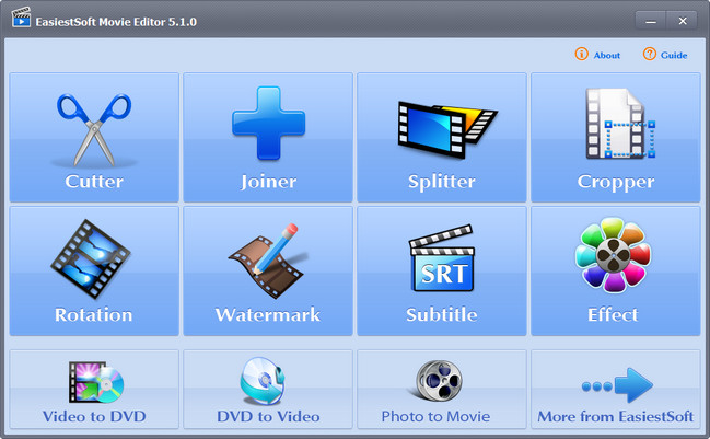 EasiestSoft Movie Editor 5.1.0 DC 06.09.2017 Portable