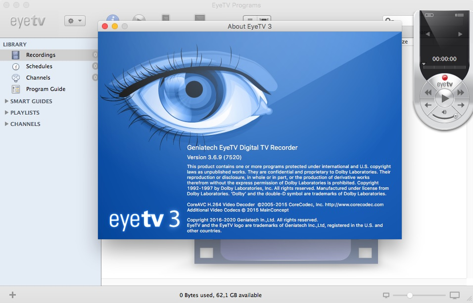 Download EyeTV 3 6 9 Build 7520 Multilingual MacOSX