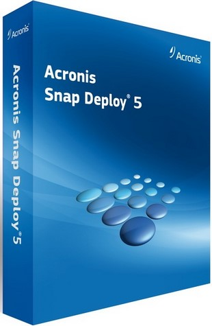 Acronis Snap Deploy 5.0.0.1749 Bootable ISO