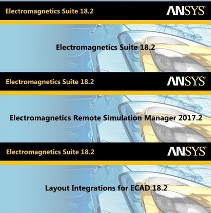 ANSYS Electronics 18.2 Suite (x64) Multilingual