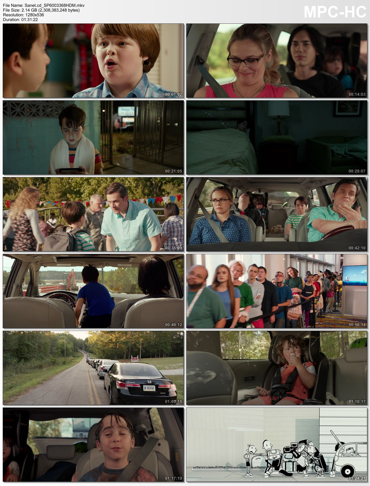 Download Diary of a Wimpy Kid The Long Haul 2017 m720p BluRay x264-BiRD - SoftArchive