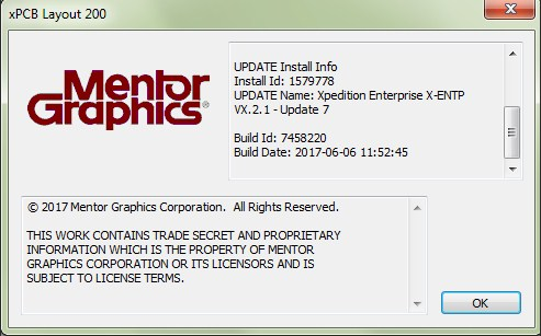 Mentor Graphics Xpedition Enterprise VX.2.1 Update 7