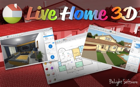 BeLight Live Home 3D 3.2.2 Multilingual (MacOSX)