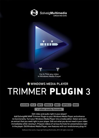 SolveigMM WMP Trimmer Plugin Business Edition 3.0.1609.12