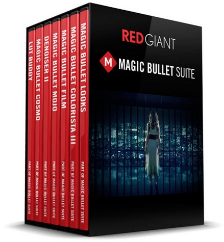 Red Giant Magic Bullet Suite 13.0.4 (Win Mac)