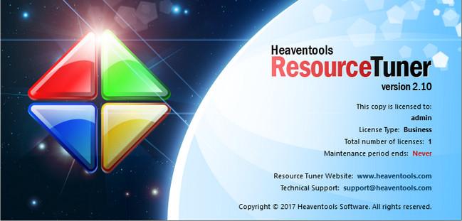 Heaventools Resource Tuner 2.10 Multilingual Portable
