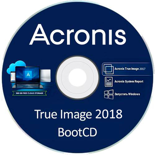 Acronis True Image 2018 Build 9850 Multilingual Bootable ISO