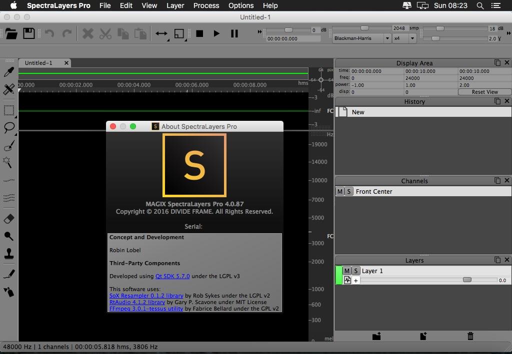 MAGIX SpectraLayers Pro 4.0.87 (MacOSX) coobra.net