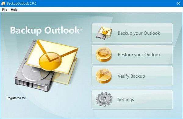 Wisco BackupOutlook 6.0.0
