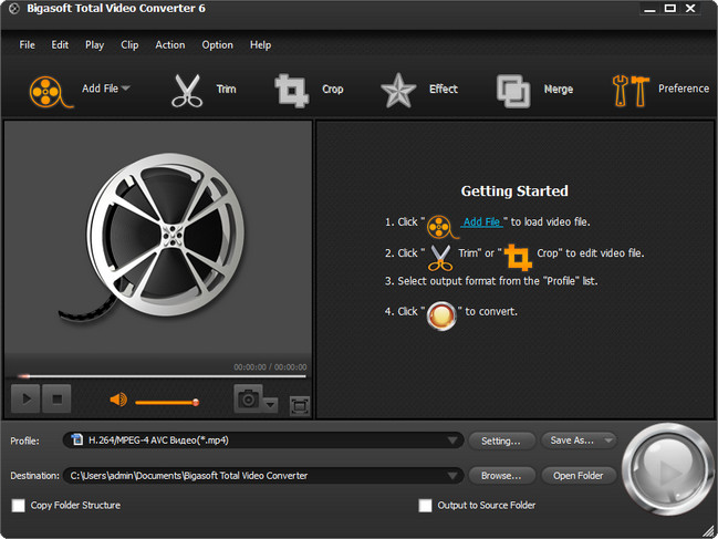 Bigasoft Total Video Converter 6.0.4.6443 Multilingual