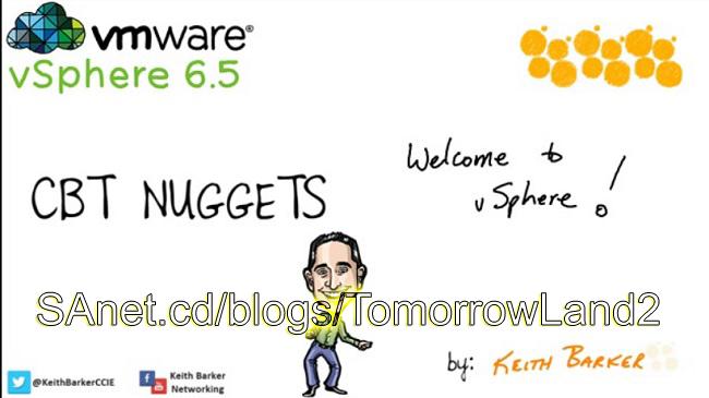 cbt nuggets vmware vsphere 6.5 دانلود