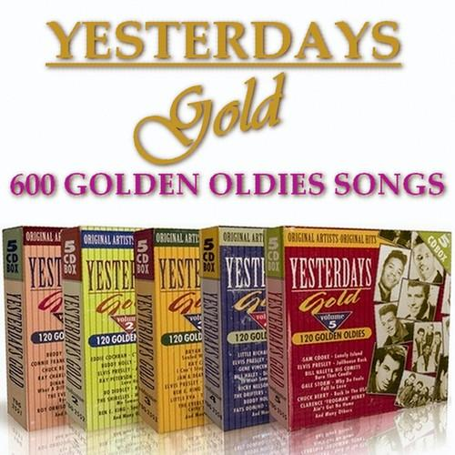 VA   Yesterday's Gold Collection   Golden Oldies [25CD Box Set] (2010) MP3 320 Kbps