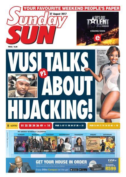 Sunday sun latest news south africa