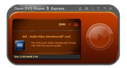 Open DVD Ripper 3.90 Build 518