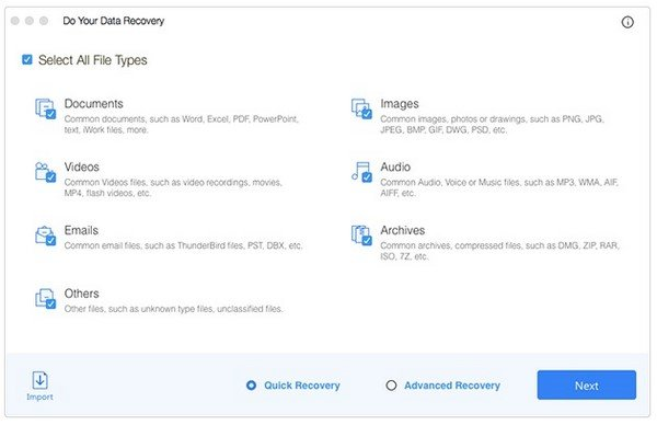Do Your Data Recovery Professional 6.0 (MacOSX)