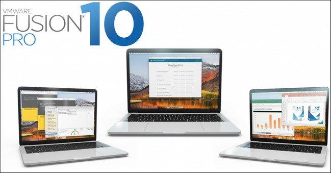 VMware Fusion Professional 10.0.0 Build 6665085 Multilingual (MacOSX)