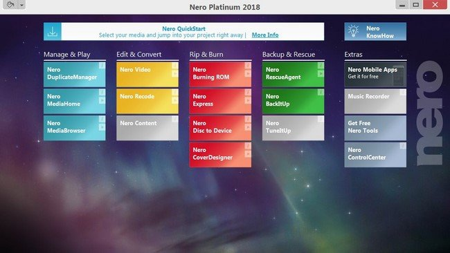 Nero Platinum 2018 Suite v19.0.07000 Multilingual