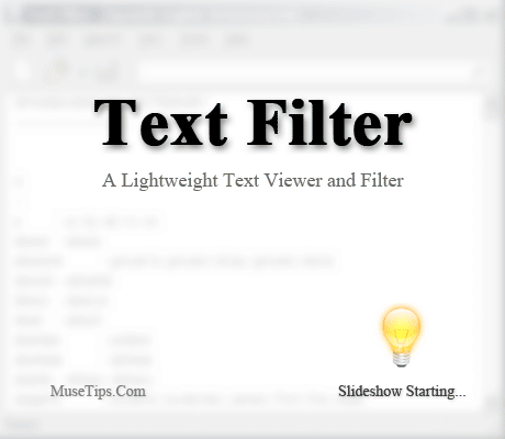 Portable MuseTips Text Filter 1.7.0 Build 677