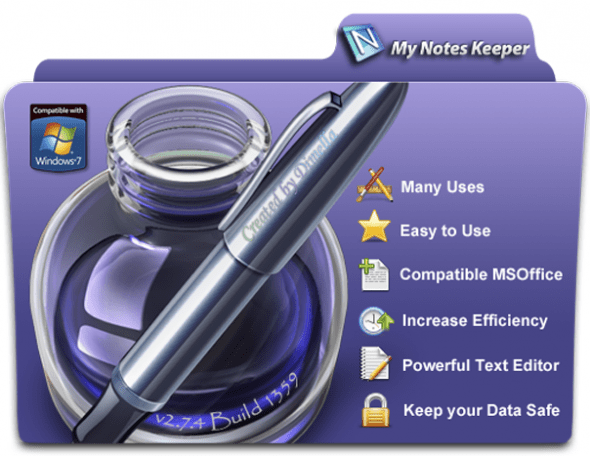 Portable My Notes Keeper 3.9.0.2036