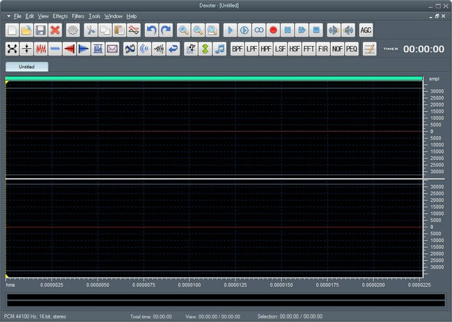 Softdiv Dexster Audio Editor 4.6