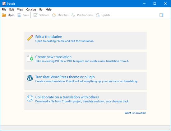 Poedit v2.0.4 Build 5142 Multilingual