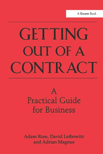 Getting Out of a Contract - A Practical Guide for Business