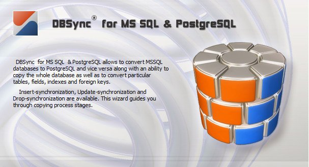 DMSoft DBSync for MSSQL and PostgreSQL 2.9.2 Multilingual
