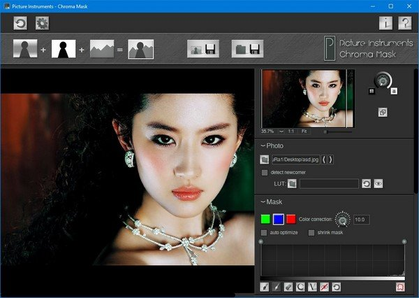 Picture Instruments Chroma Mask 1.0.6