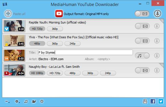 MediaHuman YouTube Downloader 3.9.8.16 (2209) Multilingual Portable