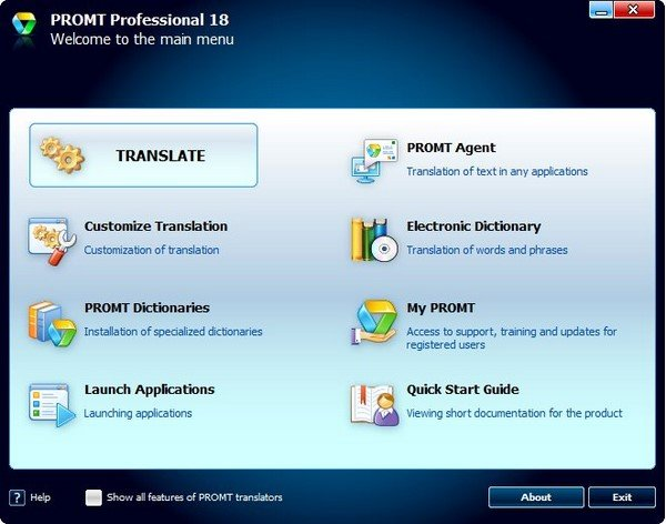 PROMT Professional 18 with All Dictionaries
