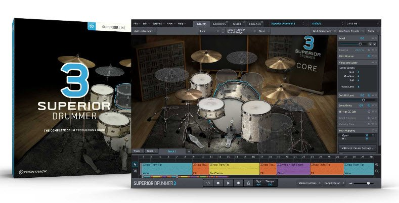 Download Toontrack Superior Drummer 3 Library Update V1 0 1