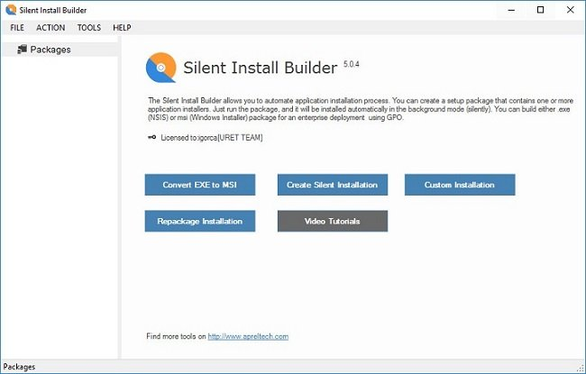 Silent Install Builder 5.1.0 Portable